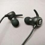 【SoundPEATS】 Bluetooth 防滴イヤホン Q15 開封の儀 レビュー