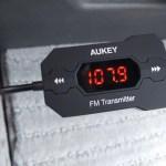 【Aukey】FMトランスミッター 3.5mmオーディオプラグ 周波数適応機能付き BT-C5 レビュー