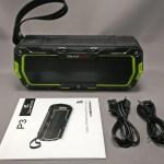 【防水Bluetoothスピーカー】SoundPEATS P3開封の儀 レビュー 15%オフ クーポンあり