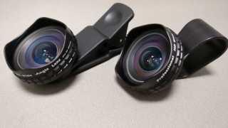 【AUKEY】広角レンズ PL-WD04 HD 110°0.7×ワイドレンズ レビュー 今度は洗濯バサミのようなクリップ式