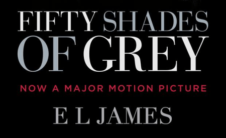 Fifty shades of grey gets a movie tie in book cover for Second 50 shades of grey