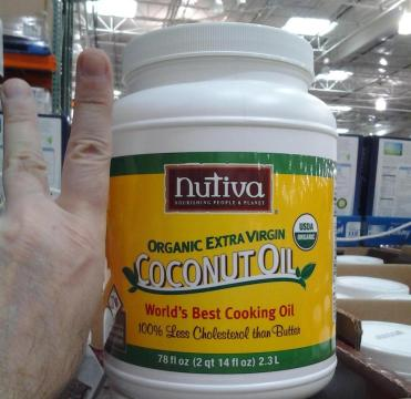 Lotsa Nutiva (sounds like a Bond babe)