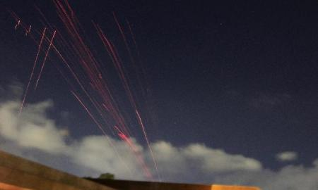 Libyan army fire anti-aircraft rounds during air strikes by coalition forces in Tripoli March 21, 2011(Photo: Xinhua/Reuters)
