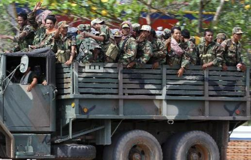 Cambodian, Thai troops exchange gunfire For 4th day