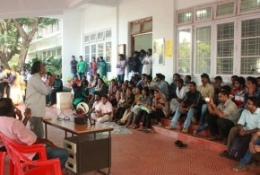 Kerala MLA backs Research Scholars Sit-In in Calicut University