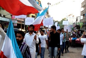 Hyderabad Students on Streets to Inspire Voters to Vote