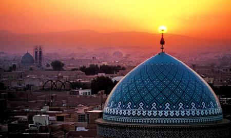 beautiful_mosque_dome_at_sunset
