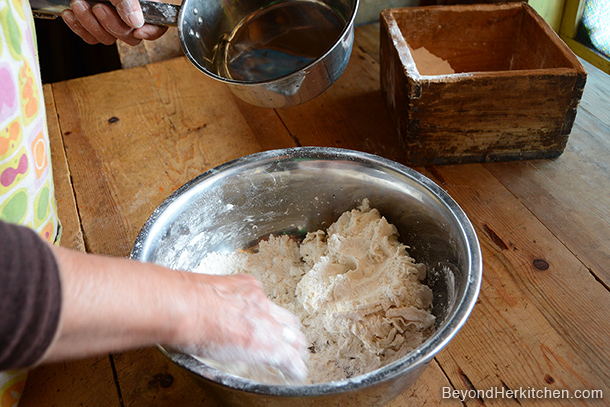 Handmade noodles, Tibetan noodles, Thugba or Thukpa ཐུག་པ, noodle dough disk, Noodle Dishes in Tibetan Culture