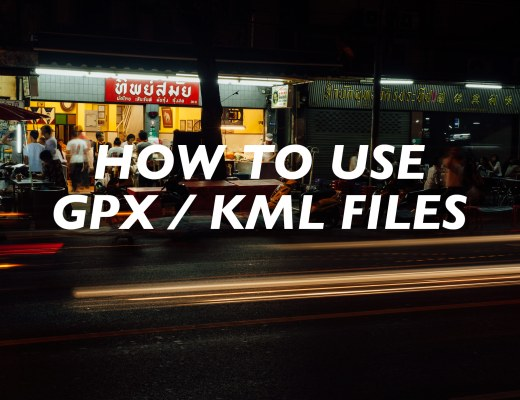 How to Use GPX / KML Files