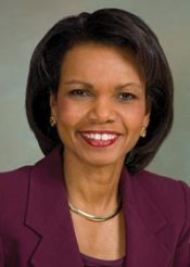 Condoleezza Rice - courtesy of BSC