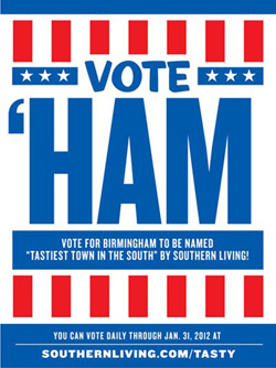 vote for the ham