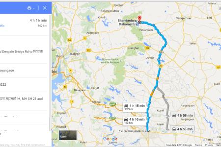 how to reach   bhandardara tourism