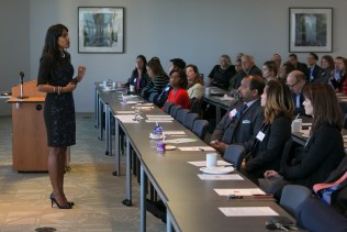 """Twin Cities Diversity in Practice, October 9, 2014: Ritu Bhasin facilitating a workshop entitled """"Addressing the Elephant in the Room: Unconscious Bias and Blindspots in Legal Environments"""" – Minneapolis, MN"""