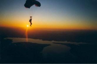 skydivingsunset
