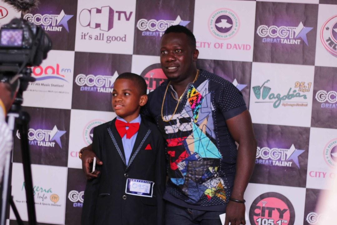 Duncan Mighty with GCGT 7 contestant Nengi Jaja