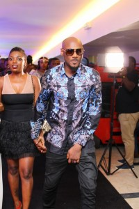 2face and Annie Idibia at mmr 5