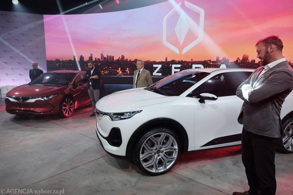 Prezentacja polskiego samochodu elektrycznego marki Izera