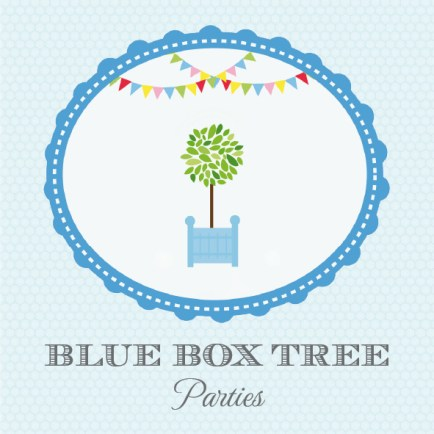 Blueboxtree - Shop München - Onlineshop - Dekorations- und Backutensilien - Logo