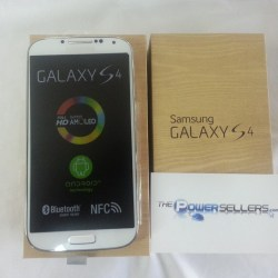 Samsung Galaxy S4 I9500 Unlocked Cell Phone – Black/White
