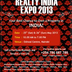 Reality India Expo 2013 – NAIROBI
