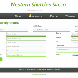 Esacco Sacco Management System