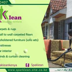 CLEANING SERVICES (Carpets, upholstered furniture/sofas, car interior, mattresses)