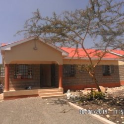 A Fully Furnished 3 bedromed Bungalow.Located along Magadi road Near Kiserian Town  — Kiserian
