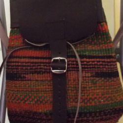 Fine Sisal Weave Backpack