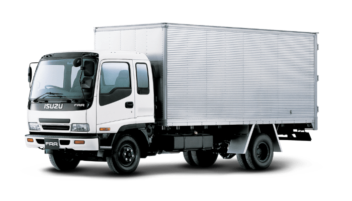 ISUZU FRR CLOSED 1
