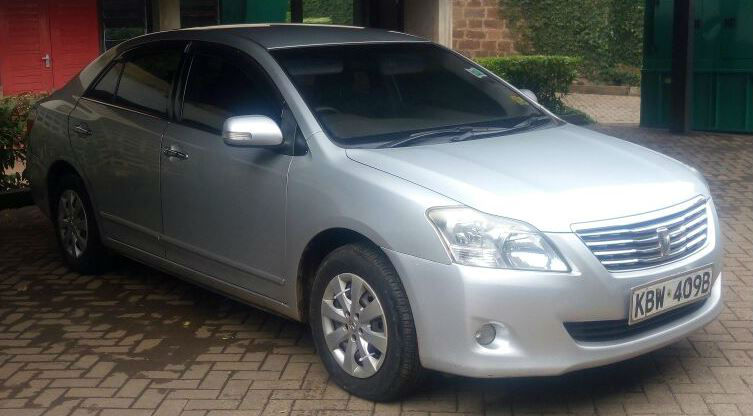 Postal Vehicles For Sale >> TOYOTA PREMIO for SALE (New Model/Shape ) Yr of Manufacture 2007 !! - Biashara Kenya