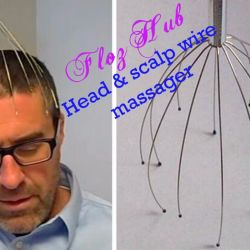 Head and scalp wire massager