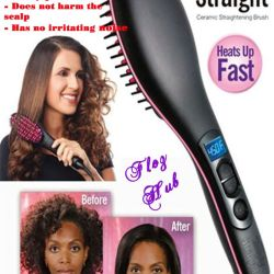Hot-comb Simply Straight