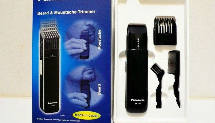 beard trimmer panasonic