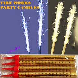 candles fireworks