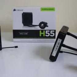 CORSAIR Hydro Series H55 Quiet 120mm Water_Liquid CPU Cooler@ Ksh 12250.00