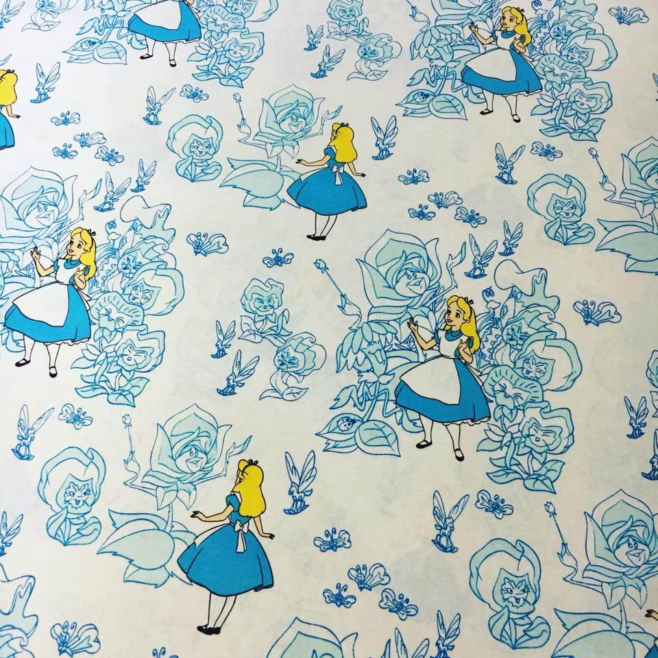 Cheerful Wonderland Cotton Fabric Disney Alice Wonderland Fabric Australia Alice Wonderland Cotton Fabric Bibelot Alice Wonderland Fabric Ebay Disney Alice houzz-02 Alice In Wonderland Fabric