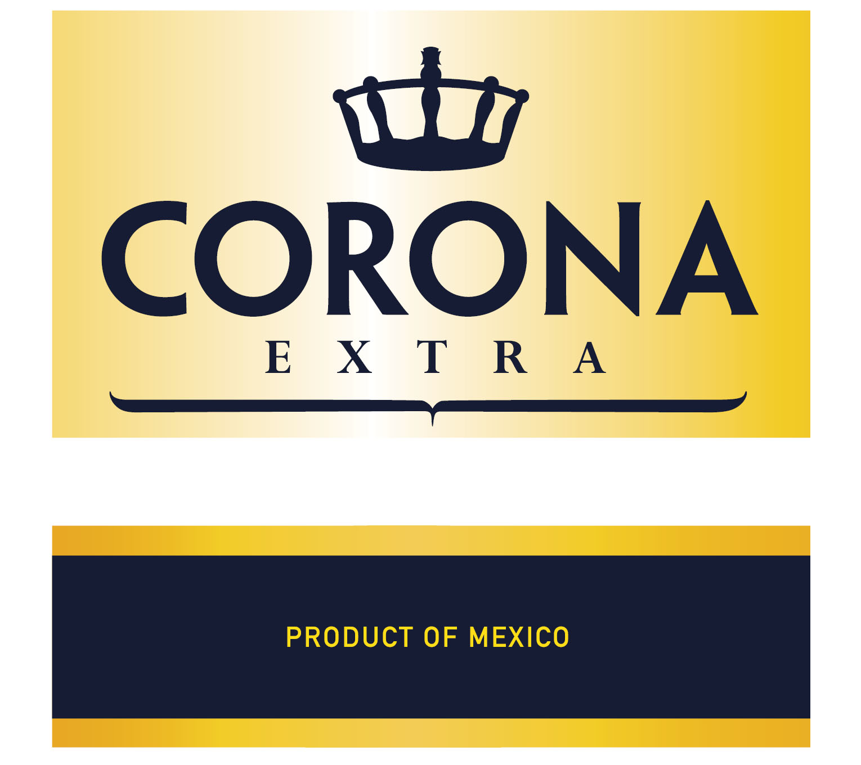 CoronaExtralogosandlabel