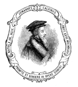 John Calvin, author of Commentaries on the Catholic Epistles