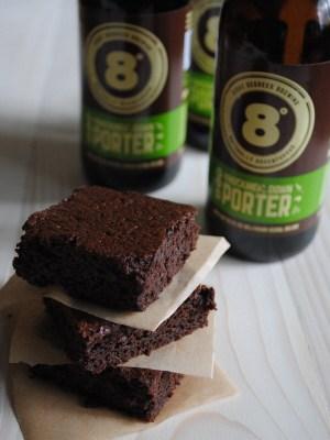 Eight Degrees Brewing: Knockmealdown Porter Brownies