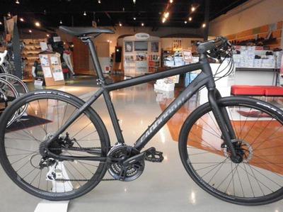 キャノンデールのクロスバイクを評価してみる!