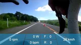 トライアスロンの自転車パートの速度