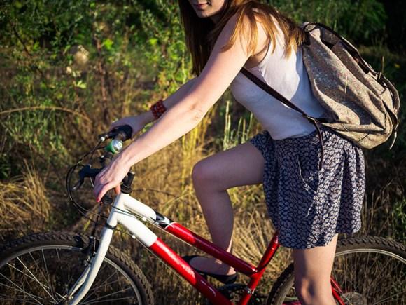 ロードバイク女子の皆さん、もっと気ままなファッションを