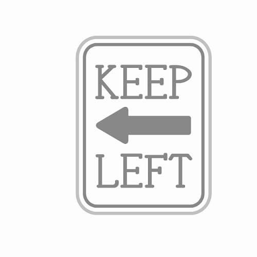 自転車で歩道を走るとき、やっぱり左側通行なの?