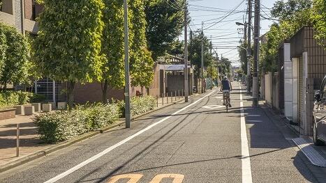 そういえば自転車の通行は左側、って決まってました??