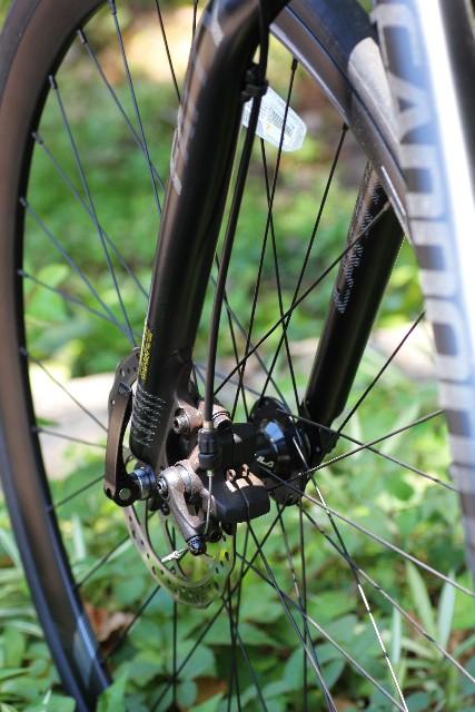 自転車のスポークにサビが!!どうやったら落とせるの?