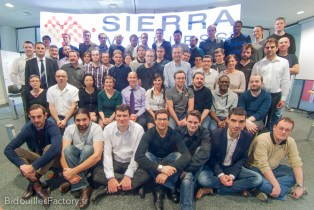 Une photo de groupe de mes collègues
