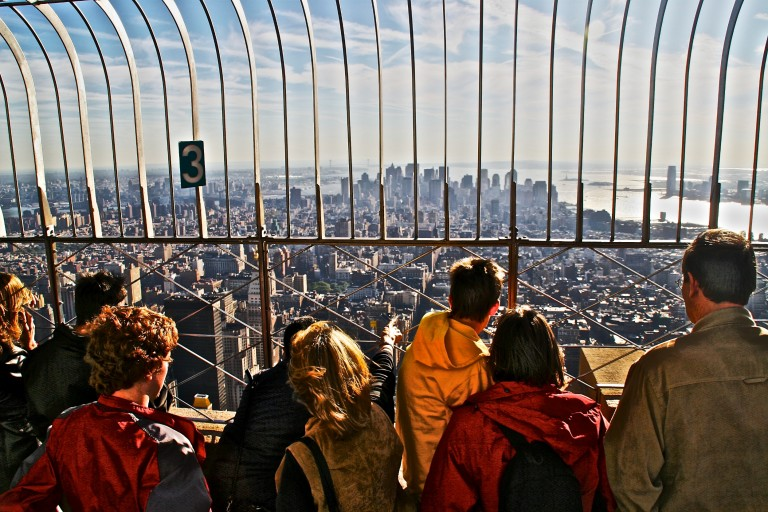 On the Empire State Building