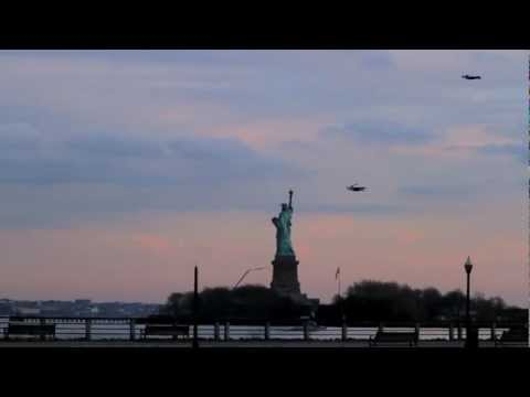 "Three human shaped RC planes were flown around New York City to create the illusion of people flying. Lots of fun. The music track is ""Unstoppable 2"" by Tom Quick. Get it here:http://www.audionetwork.com/production-music/unstoppable_45675.aspx"