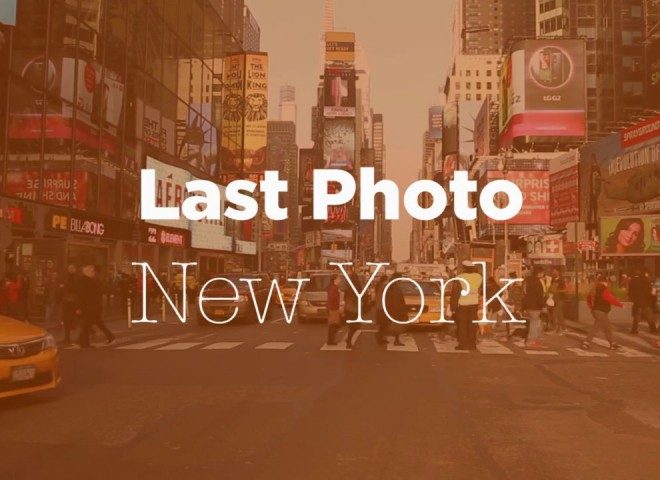 Last Photo – New York