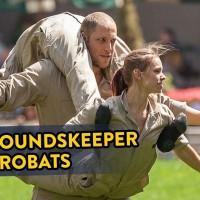 Groundskeepers Turn Into Acrobats